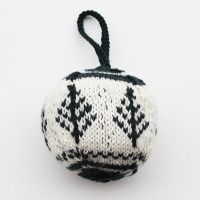 Fair Isle Christmas Tree Decoration Kit
