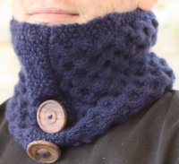 Unisex Honeycomb Neck Warmer