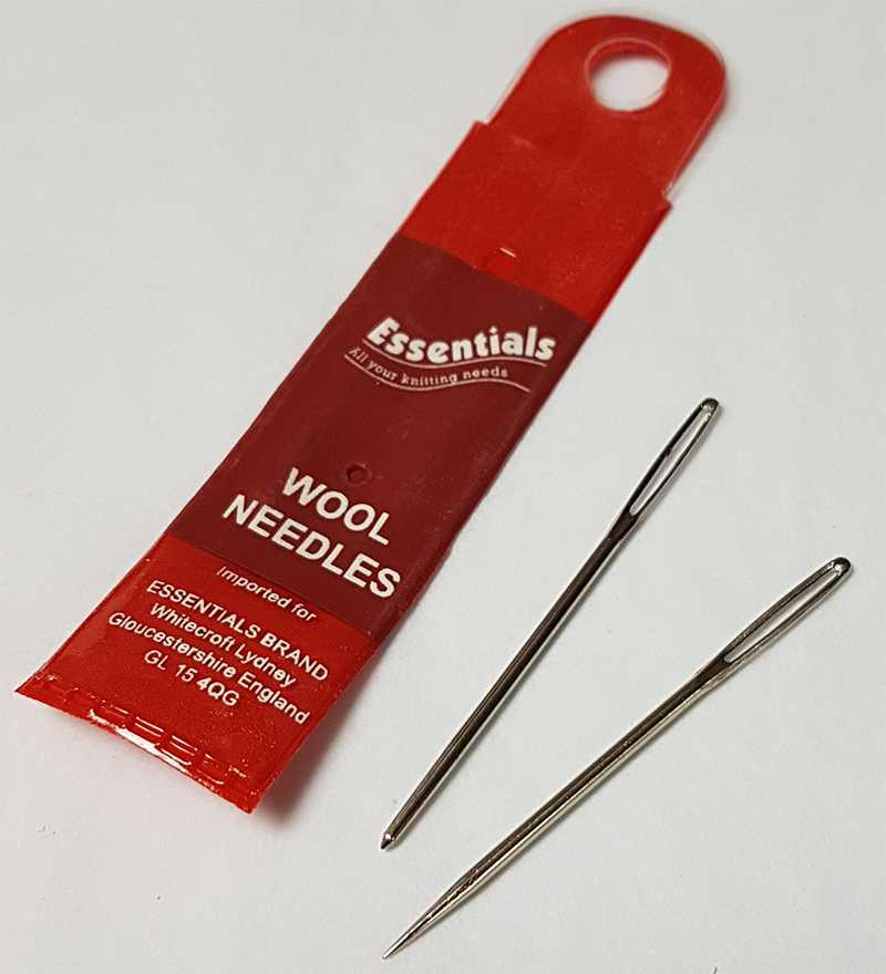 Wool Needles (set of two needles)
