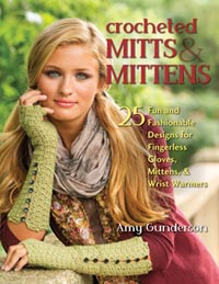 Crocheted Mitts & Mittens - Click Image to Close