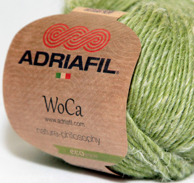 WoCa - wool hemp blend eco yarn