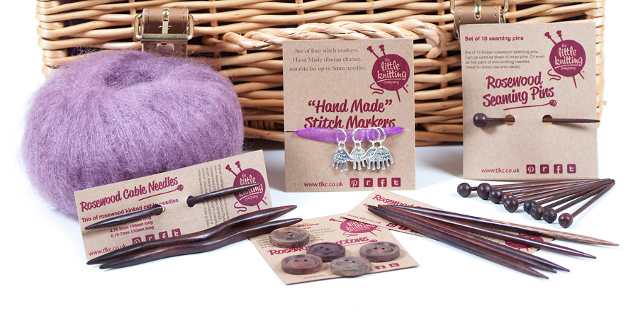 Superfine Kid Mohair Knitter's Hamper