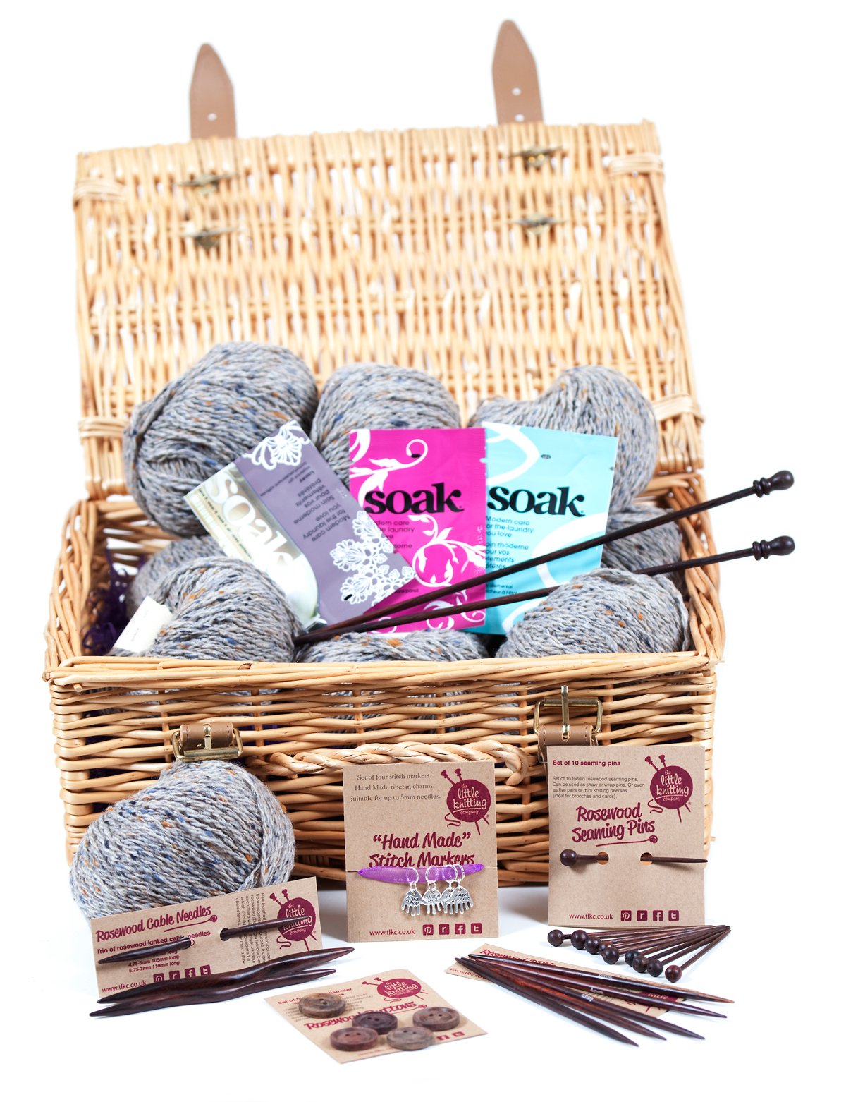 Cashmere Yak Knitter's Hamper - Click Image to Close