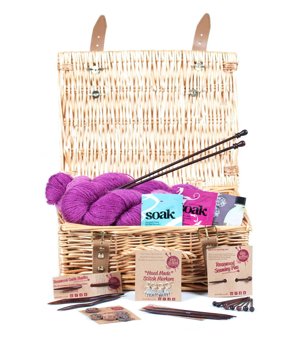 Cotswold British Wool Knitter's Hamper