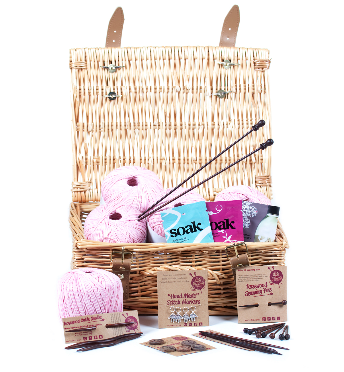 4-ply Cotton Knitter's Hamper