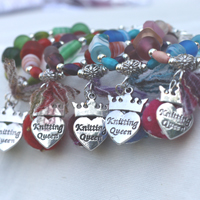 Knitting Queen Bracelet MKII - Click Image to Close