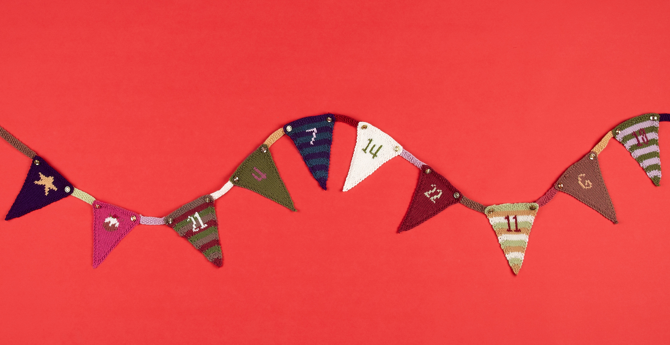 Advent Bunting Kit