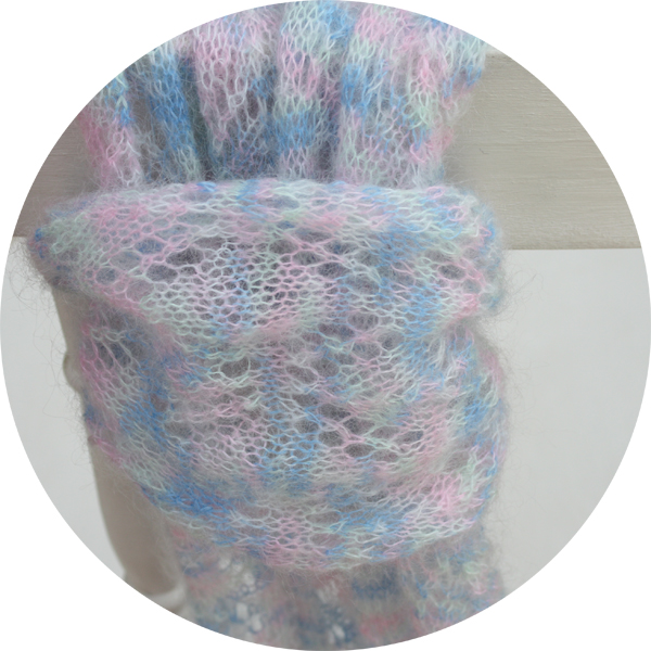 Alyssa Kid Mohair Blend Lace Scarf Knitting Kit