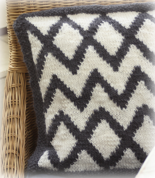Aztec Cushion Cover Knitting Kit