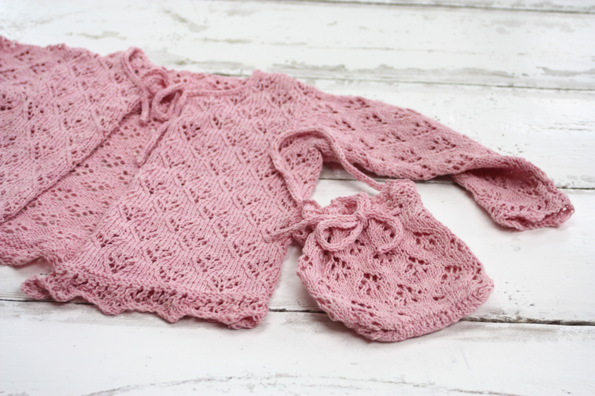Betsy Lace Girl's Cardigan