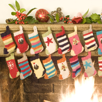 Advent Stockings Kit - Click Image to Close