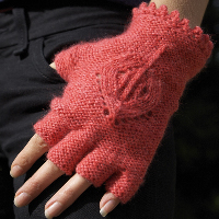 Fingerless Gloves Knitting Patterns | AllCrafts.net Free Crafts