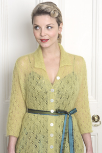 Camelot Superfine Kid Mohair Lace Detail Shirt Pattern