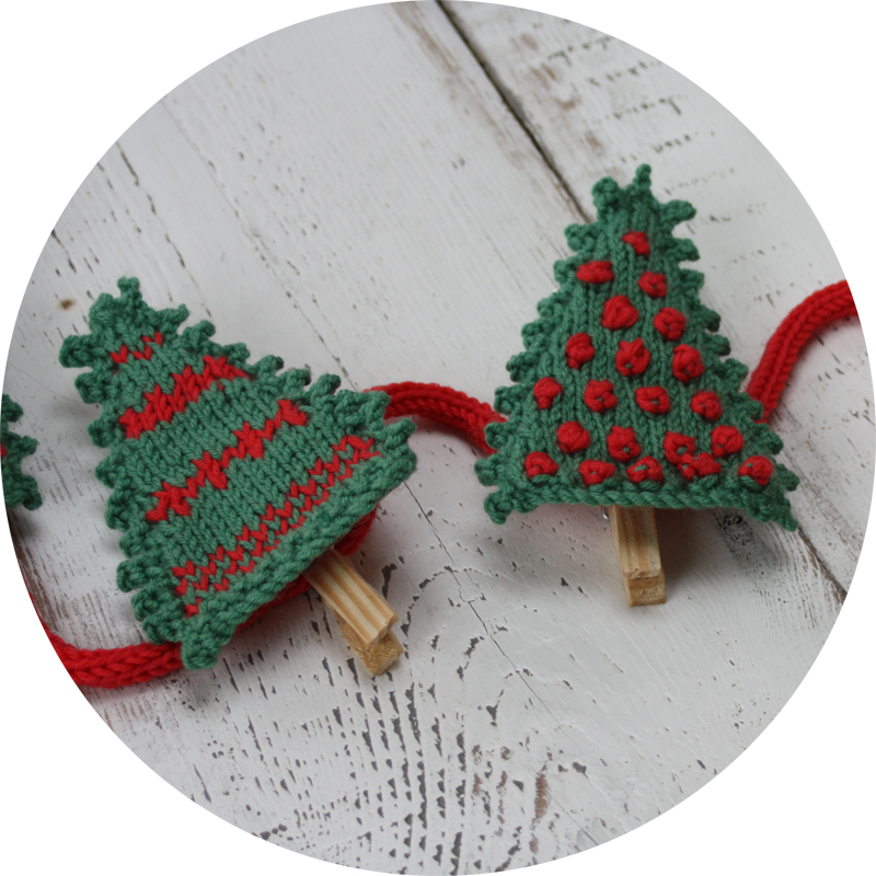 Knitting Patterns Kits : Christmas Card Display Knitting Kit