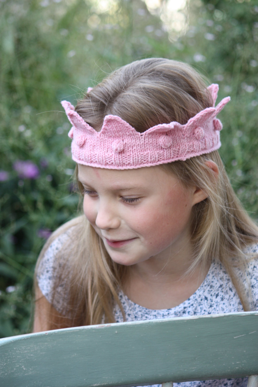 Merino Crown - for Prince or Princess!
