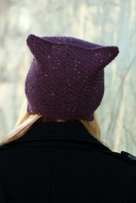 Cubbed Hat Knitting Kit - Click Image to Close