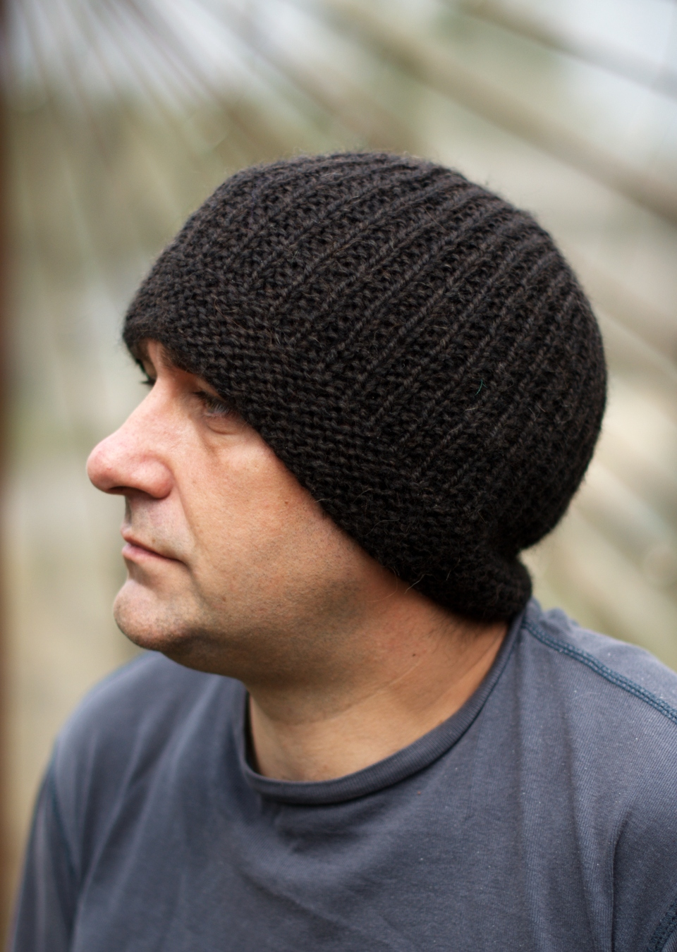 Geko Mens Beanie Hat Knitting Kit