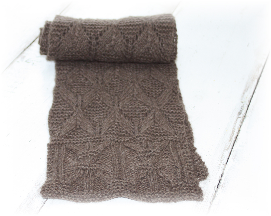 Wheatsheaf Cashmere Scarf Knitting Kit