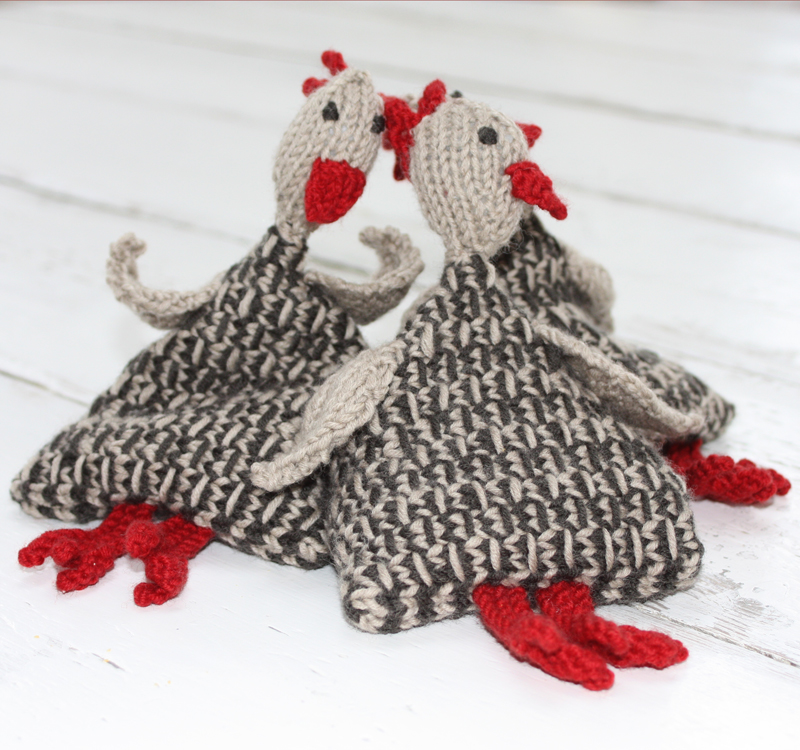 Juggling Speckled Hens Knitting Kit