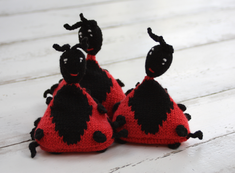 Juggling Ladybirds Knitting Kit