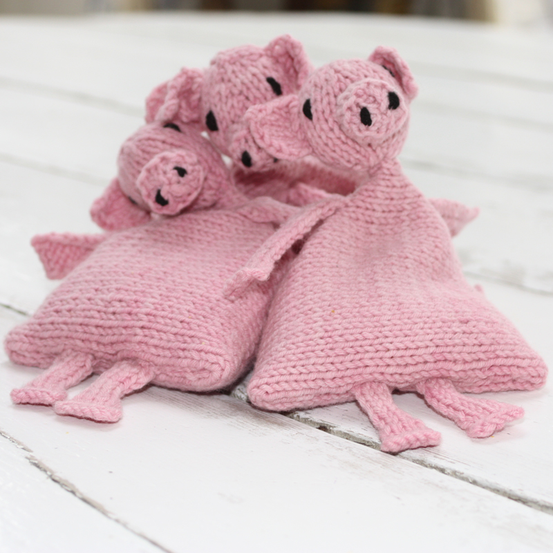 Juggling Piggies Knitting Kit