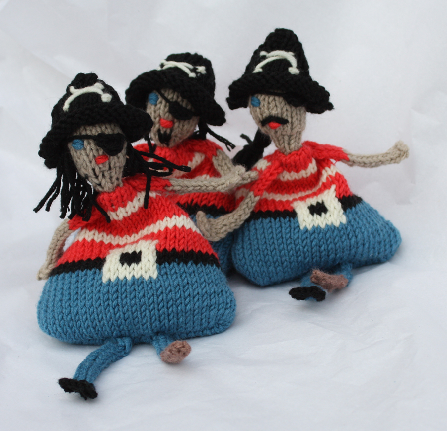Juggling Pirates Knitting Kit