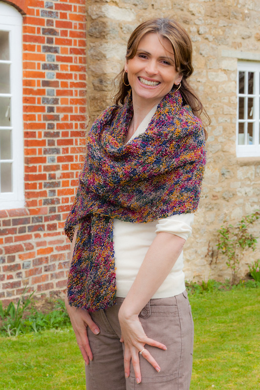Mistral Wrap Knitting Pattern