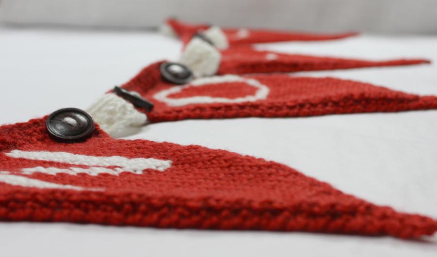 Noel Seasonal Bunting Kit Noel Bunting The Little Knitting