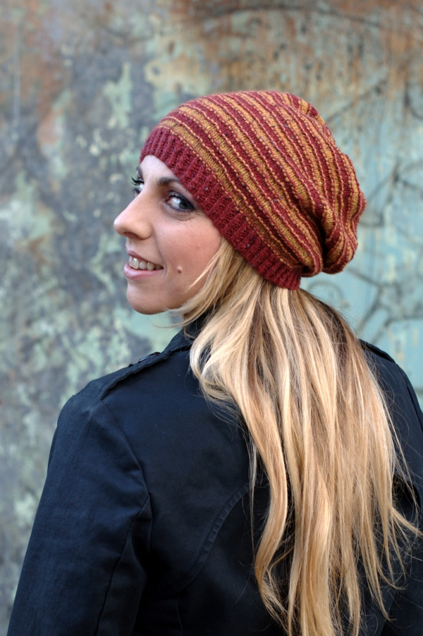 Striato Slouchy Knitting Kit