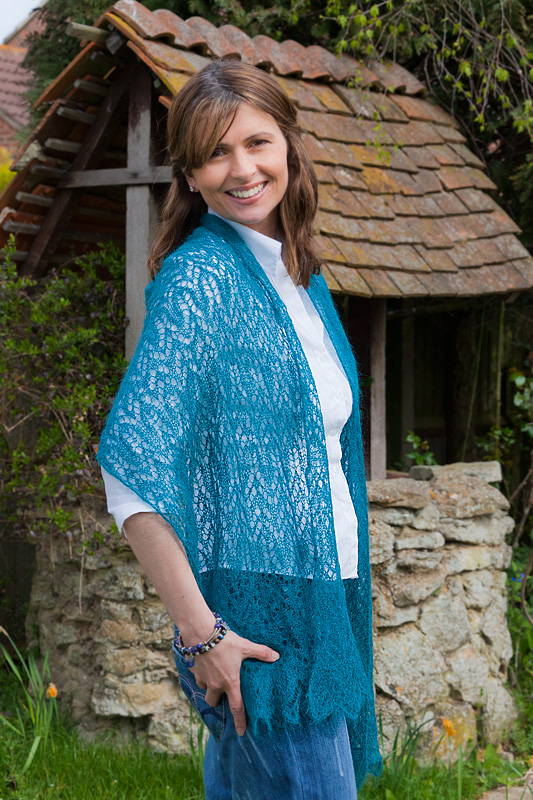 Sweetwater Lace Wrap Knitting Kit