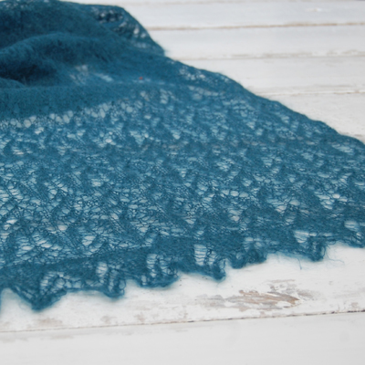 Sweetwater Lace Wrap Knitting Kit - Click Image to Close