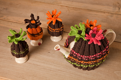 Free Knitting Patterns Tea Cosy