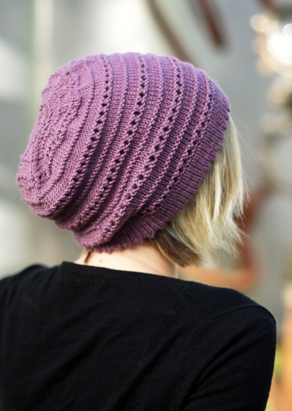 Tebe Slouch Beanie Hat Kit - Click Image to Close