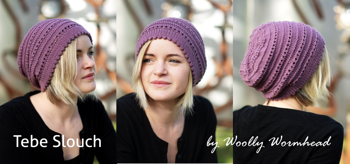 Tebe Slouch Beanie Hat Kit Kit Slouch The Little Knitting
