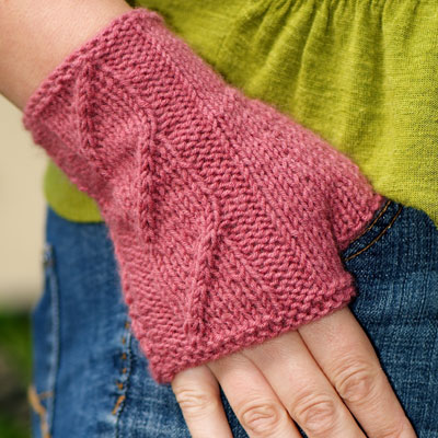 Tower of Song Fingerless Mittens Pattern