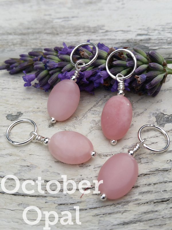 Birthday Gemstone Stitch Markers