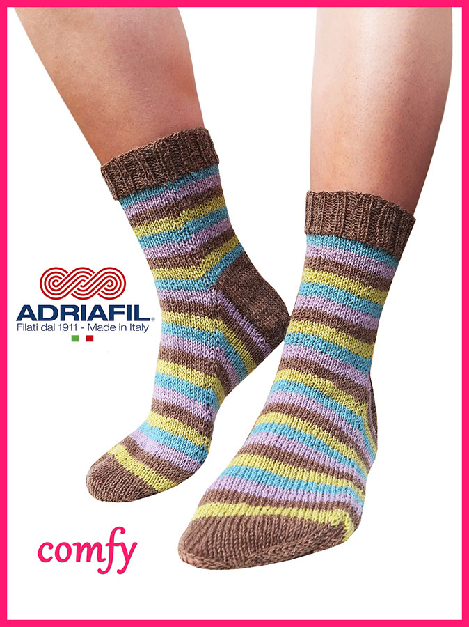 "Calzasocks - ""Comfy"" striped socks"