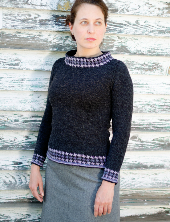 Whittier - knitting pattern - Click Image to Close