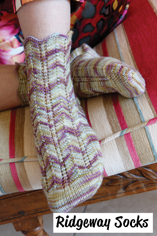Alegria Sock Yarn Pattern Book