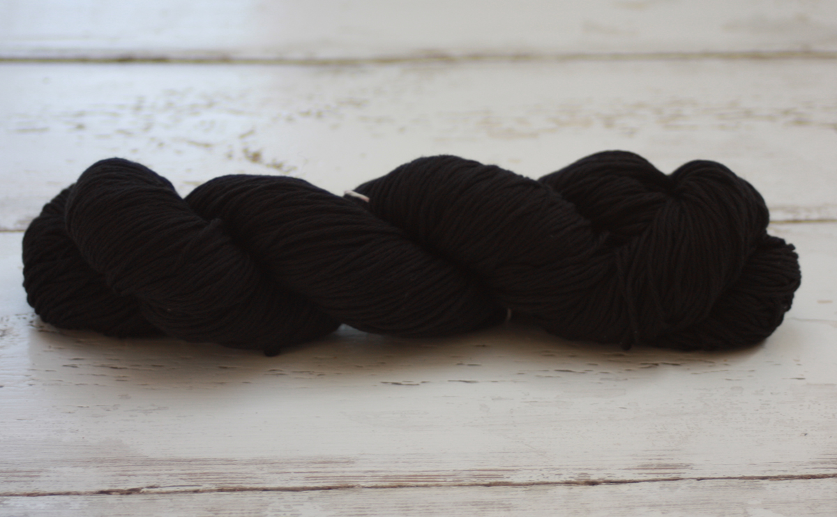 Cotton Cashmere - Black 100g