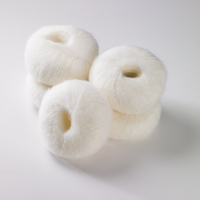 Italian Superfine Kid Mohair - pure white 25g