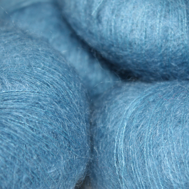 Italian Superfine Kid Mohair - French blue 25g