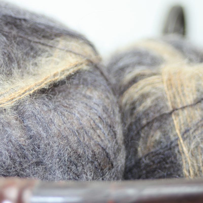 70% Superfine Kid Mohair 30% Silk - clyro 25g