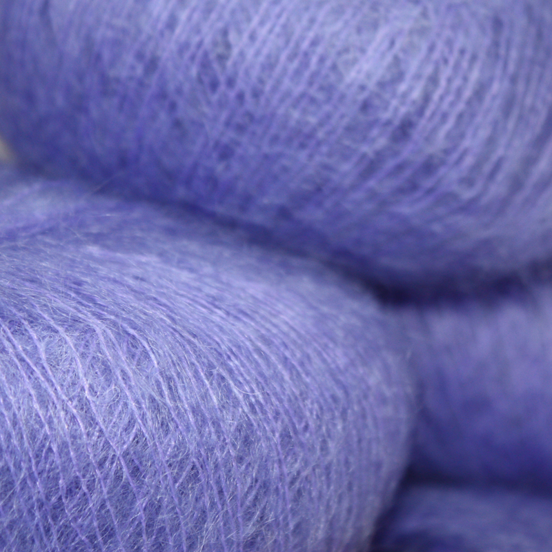 Italian Superfine Kid Mohair - soft violet 25g