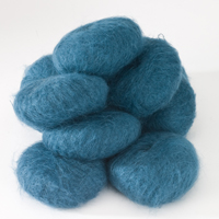 Italian Superfine Kid Mohair - teal 25g