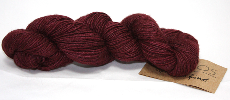 Silk Blend Fino 4-ply - Bing Cherry