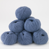 Husky 82% wool - cornflower 50g