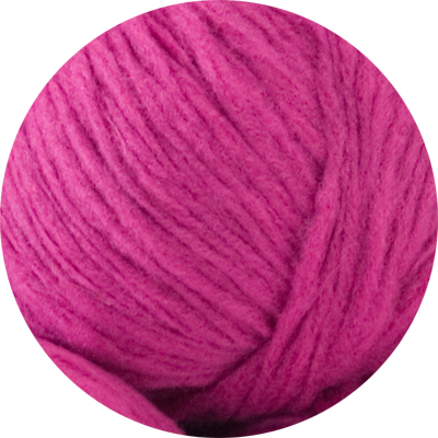 Husky 82% wool - hot pink 50g