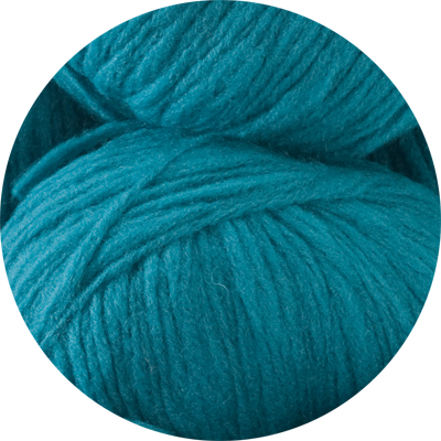 Husky 82% wool - sea green 50g