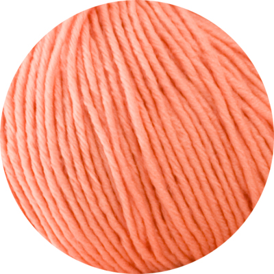100% Super Extrafine Merino - pale terracotta 50g